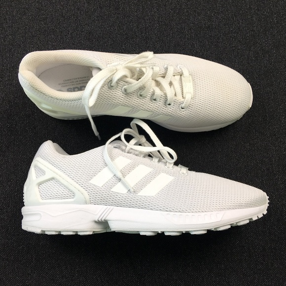 3a7c8a120 Adidas Mens White Sneakers 8.5 C99 x02648